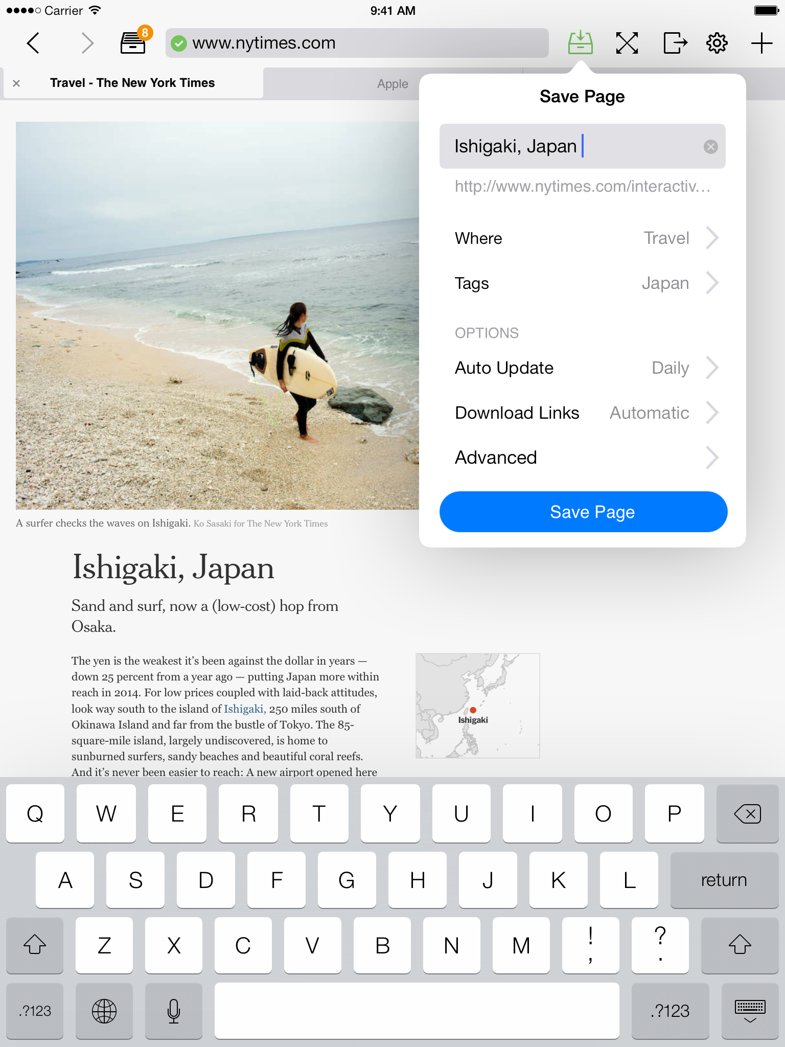 Offline Pages Pro for iOS - Press Kit | Codium Labs